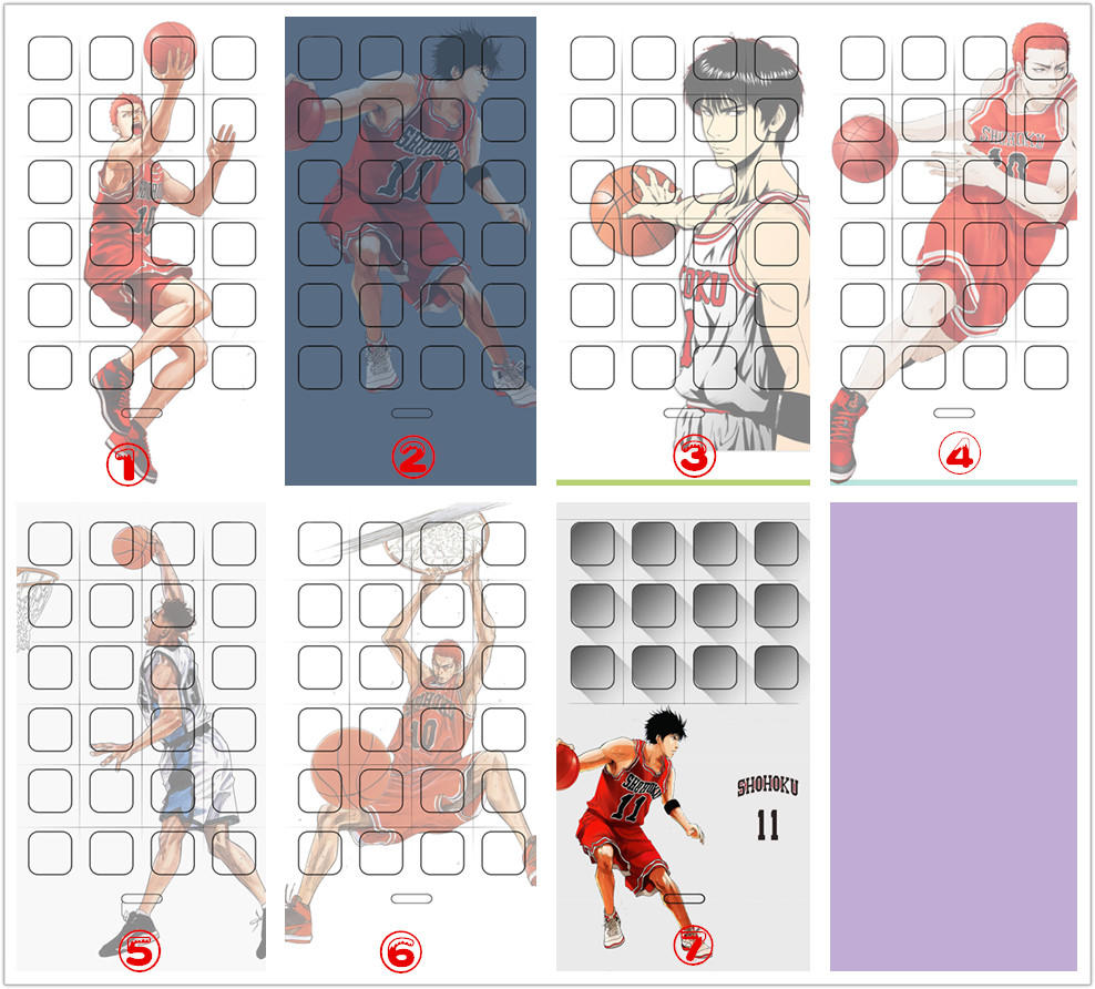 灌篮高手—iPhone手机壁纸